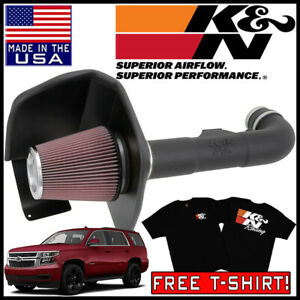 "3.5/"" BLACK Heat Shield Cold Air Intake+Filter For 15-19 Suburban//Tahoe 5.3L V8"