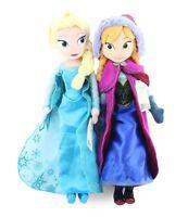 Disney Frozen Princes Elsa/Anna Olaf/Sven Soft Stuffed Plush Doll Gift Toy