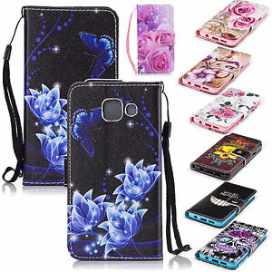Wallet Style Leather Phone Case Cover Stand for Samsung Galaxy A3 (2016) A310