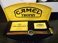 CAMEL TROPHY orologio mod. G.M.T. 955.414 ETA SWISS RARE VINTAGE WATCH