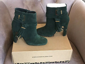 River Island Ankle Boots, Size 2- RRP