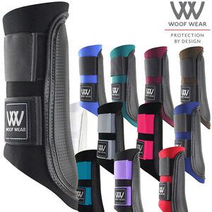 Woof Wear Club Unisexe Horse boot bottes guêtres-noir toutes tailles