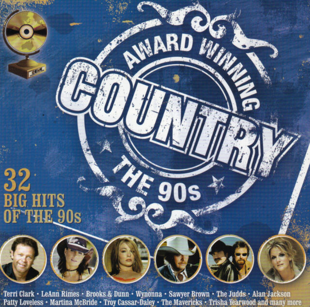 AWARD WINNING COUNTRY - THE 90's / VARIOUS ARTISTS -2 CD SET