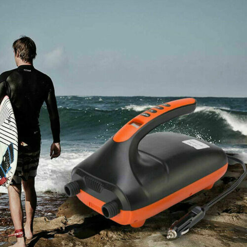 UK Digital Electric Air Pump Intelligent 20PSI for Inflatable SUP Paddle Board A