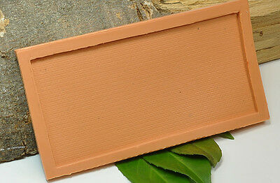 (b008) Silicone Mould for Regular Brick Wall, N Gauge