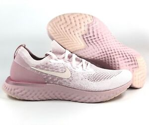 6045ed728793 Nike Epic React Flyknit Pearl Pink Barely Rose AQ0067-600 Men s 11.5 ...