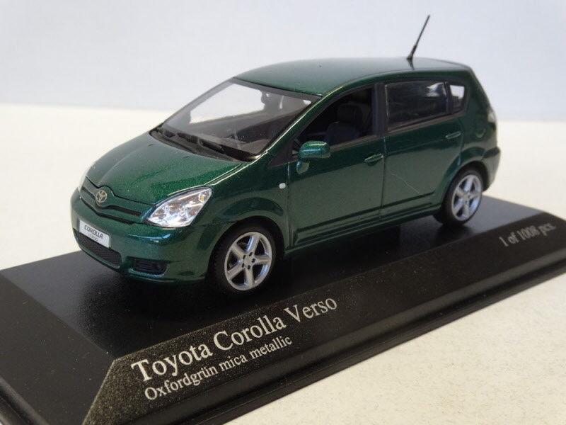 Minichamps   Toyota Carolla Verso 2004 2004 2004 Green 1 43 Item  400166361 2c9f3c