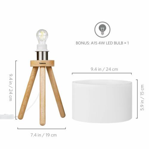 Energieklasse A++ LED Nachttischlampe für Schlafzimmer mit 4W LED-Leuchtmittel