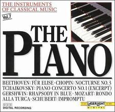 The Instruments of Classical Music, Vol. 7: The Piano (CD, Jun-1990, Laserlight)