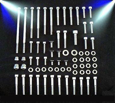 Motorschraubensatz Honda XR 500 600 R V2A Innensechskant Edelstahl Schrauben
