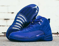 2016 Nike Air Jordan 12 XII Retro Blue Suede 7y. 153265-400 Flu game taxi wool 7