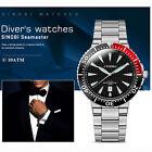 SINOBI Men's Sport Wristwatches Waterproof Stainless Watchband Luxury Waterproof