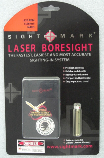 NEW P2M In-Chamber Laser Bore Sight 308 Win .243 Win 7mm-08 260 Rem 358 Red