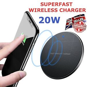 20W Wireless Charger, Superfast charging Pad for iPhones & Samsung Phones