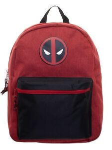 Image Is Loading Marvel Deadpool 16 039 Backpack School Book