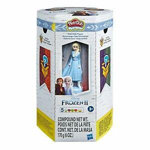Play-doh-Disney-Eiskoenigin-2-Elsas-Abenteuer-Mystery-Schnee-Globus-Spielset