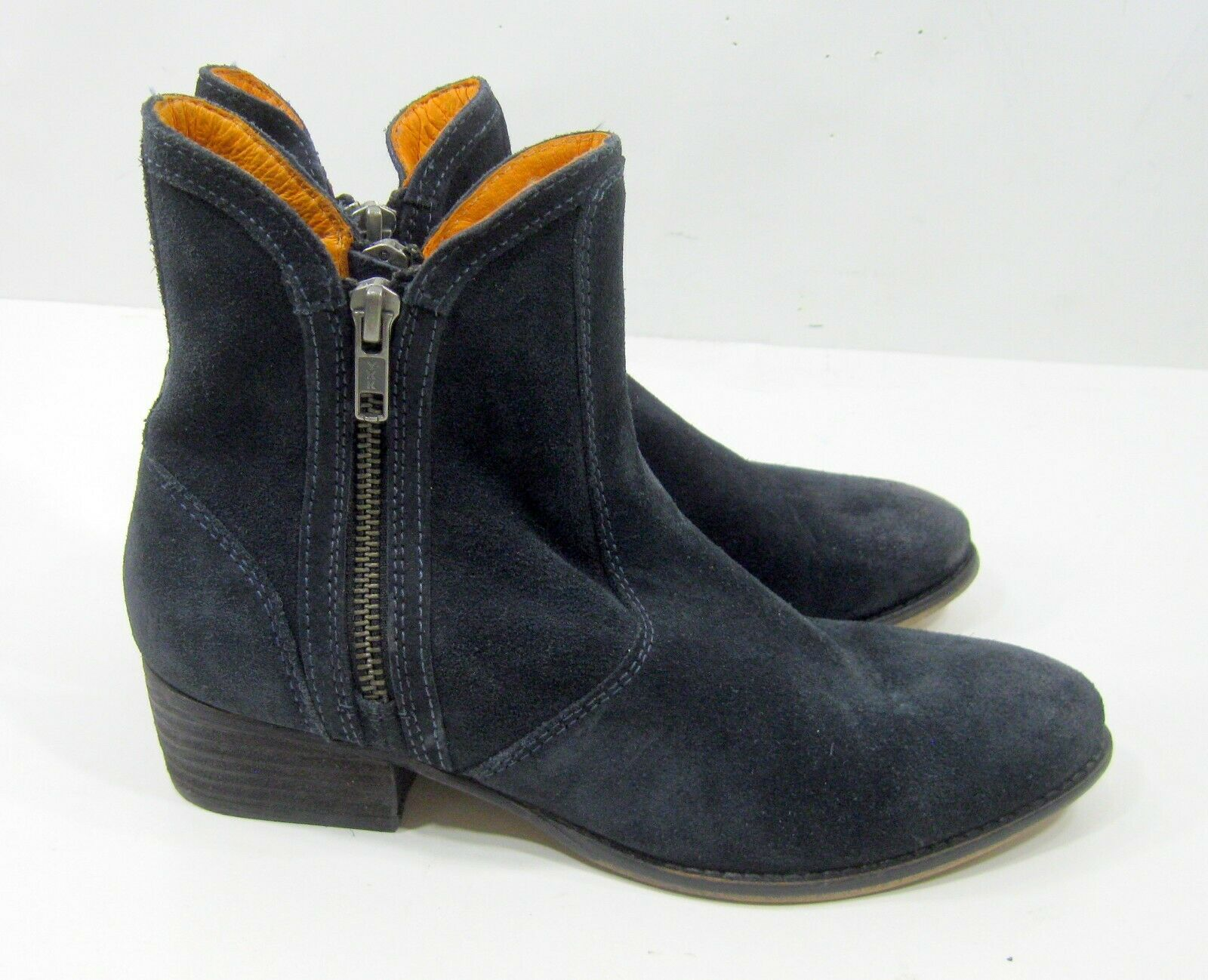 seychelles shoes NAVY suede ankle boot 2