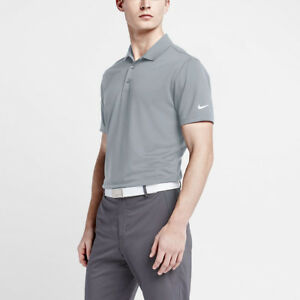 a5821f1b Nike Golf Victory Solid Polo Shirt 725518-012 Grey/White - Reg Price ...