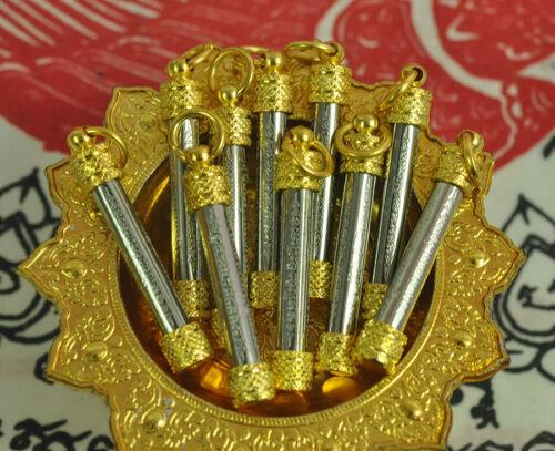 10 PCS Yant 5 Row Powerful Amulet Holy Thai Buddha Magic Tattoo Talisman Pendant