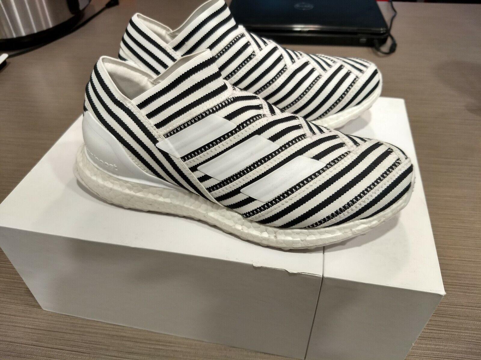 Adidas Nemeziz Tango 17+ Ultraboost zebra black white SZ 7