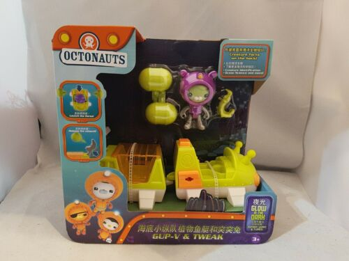 Octonauts Gup-V Véhicule avec figurine Tweak CBeebies New BOXED