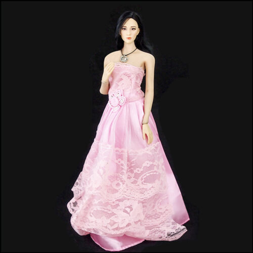 """1//6 Scale Female Doll Skirt Wedding Evening Dress For 12/"""" Phicen Figure Body Toy"""