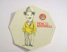 VECCHIO ADESIVO / Old Sticker CHARLIE CHAPLIN (cm 10) serie Renco Marwell