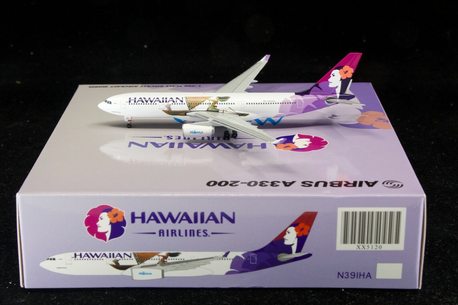 JC Wings 1 500 Hawaiian A330-200 'Moana Livery' N391HA