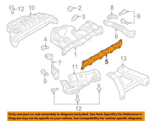 MITSUBISHI OEM 08-17 Lancer Exhaust-Manifold Gasket 1555A185