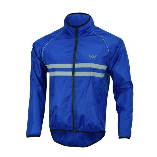 Mens cycling jacket High visibility Waterproof Running top rain coat S-2XL