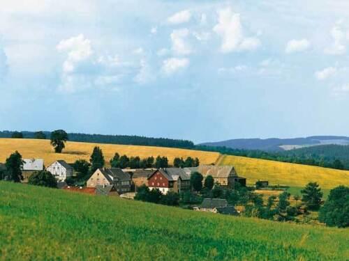 Auhagen 42508 piste h0 arrière-plan nuages pierre prix de base 1 m² = 13,34 €