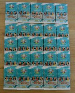 UEFA euro 2020 Adrenalyn Xl Trading Cards X 25 Packs