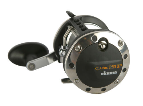 Okuma classic pro xp multiplicateur level wind reel XP-452La bateau de pêche morue bass