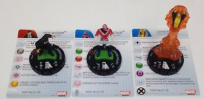 Heroclix Galactic Guardians set COMPLETE lot of 4 OP Kit LE figures w//cards!