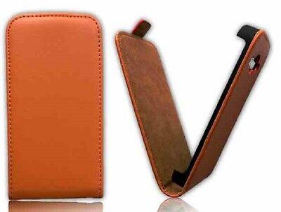 % Leder-Imitat Hülle Etui Cover Handy Schutzhülle Tasche Samsung Handys Folie