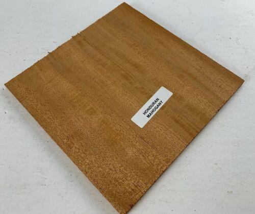 """Beautiful Honduran Mahogany Guitar Rosette Square blank 6/"""" x 6/"""" x 3 mm"""
