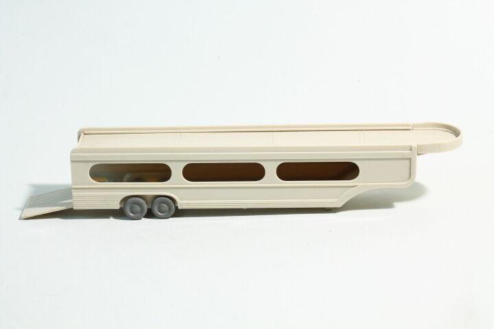 Wiking Auflieger PKW-Transporter hellgelbgrau  | Toy Story