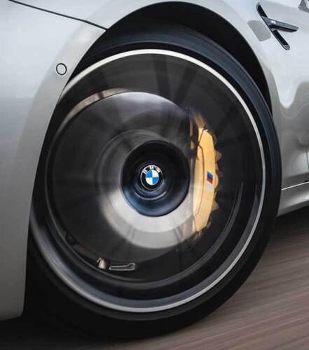 Genuine BMW Floating Alloy Wheel Centre Cap Set 36122455268         ** 56mm **