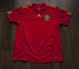 Spain-National-Team-Jersey-Shirt-Adidas-Size-L-F0403a4