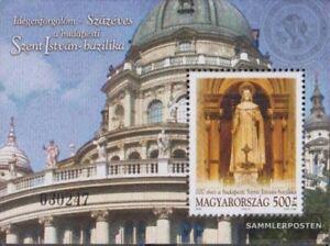 Ungarn-Block300-kompl-Ausg-postfrisch-2005-Basilika