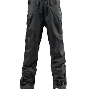2015-NWT-MENS-ADIDAS-MULTAPOR-2L-SNOWBOARD-PANTS-S-black-waterproof