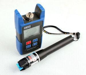NUOVO TL510C METRO FIBRA OTTICA + Laser Rosso TL533 1mW tester del Cavo localizzatore guasti