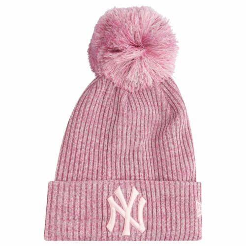 New Era Damen Wintermütze Bobble Beanie New York Yankees