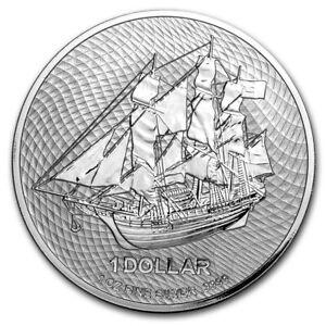 2020 Silver 1 oz Cook Islands Bounty Coin