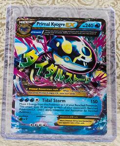 Primal Kyogre pokemon mega primal kyogre ex 55/160 - xy primal clash - ultra