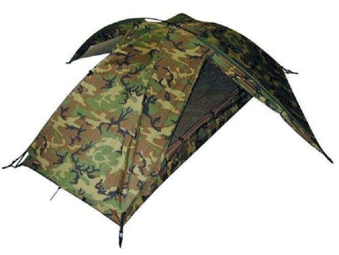 Us Army Eureka tcop USMC 1 hombre Combat wcp Woodland camuflaje tent carpa