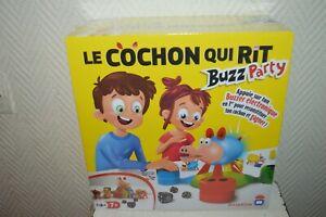 JEU-LE-COCHON-QUI-RIT-ELECTRONIQUE-BUZZ-PARTY-NEUF-EN-BOITE-DUJARDIN