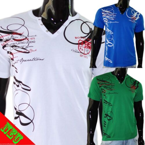 Jeel Jeans t-shirt shirts NEUF Hommes Haut Clubwear Design polo top t-shirts