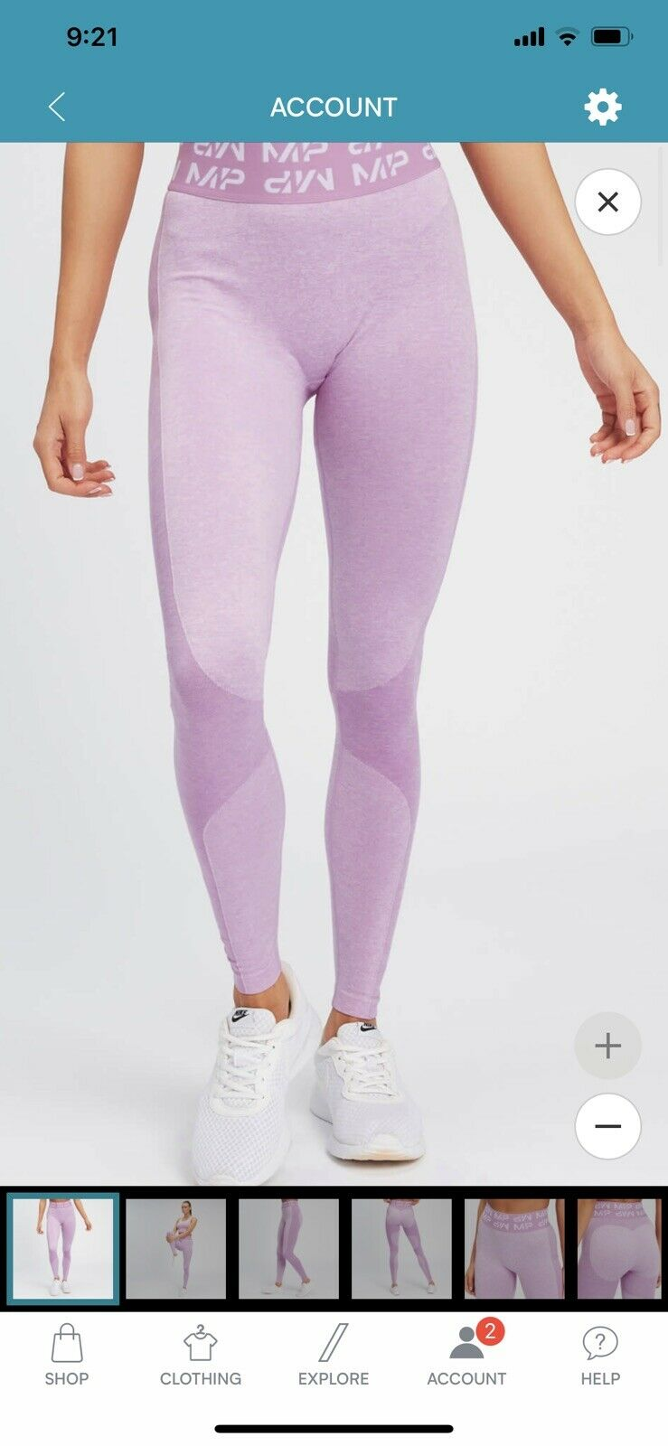 My Protein Curve Leggings Bnwt Size S RRP