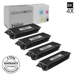 4pk-TN-650-for-Brother-TN650-Toner-Cartridge-High-Yield-MFC-8890DW-MFC-8480DN